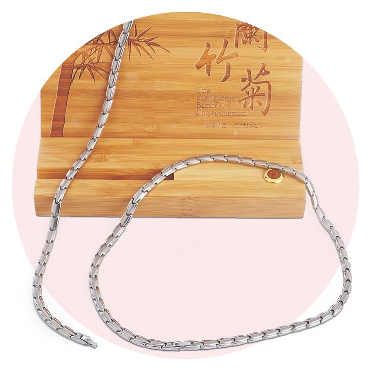 磁锗纯钛项链(女)