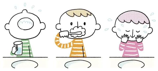 这样刷牙,想不干净都难!